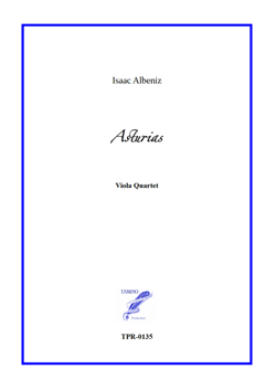 Asturias from Spanish Suite for Viola Quartet (Albeniz)