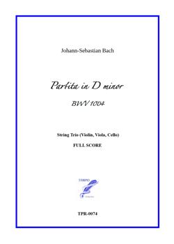 Partita (Chaconne) in D minor BWV 1004 for String Trio (Bach / Loiseleur)
