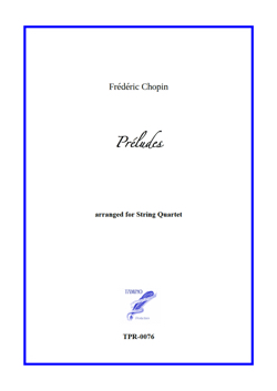 Prelude 20 arranged for String Quartet (Chopin)
