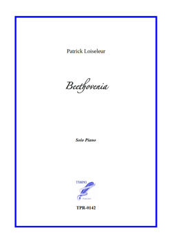 Beethovenia for Piano solo (Loiseleur)